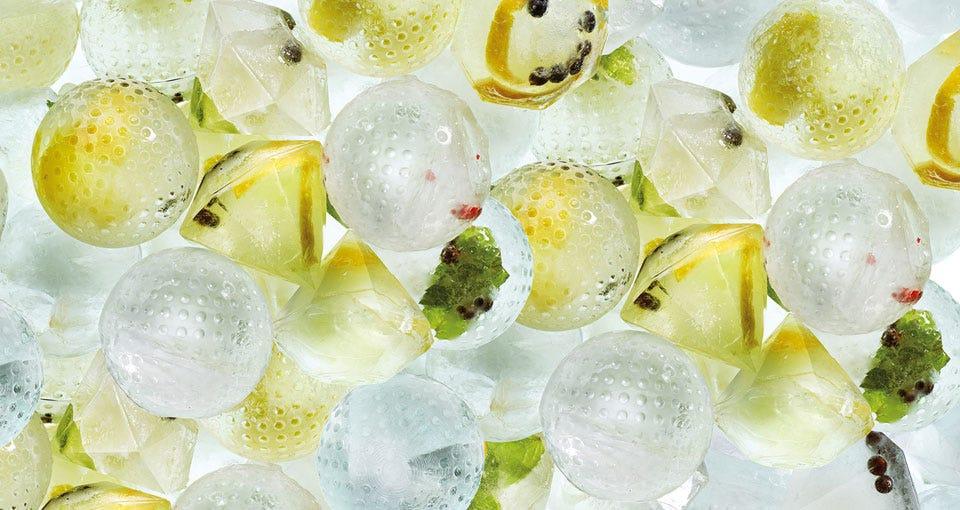 Moule Ice Block Sphere