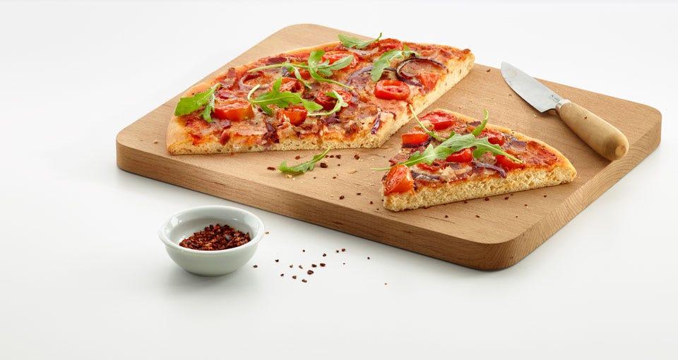 Round Pizza Mat Crunchy 36Cms